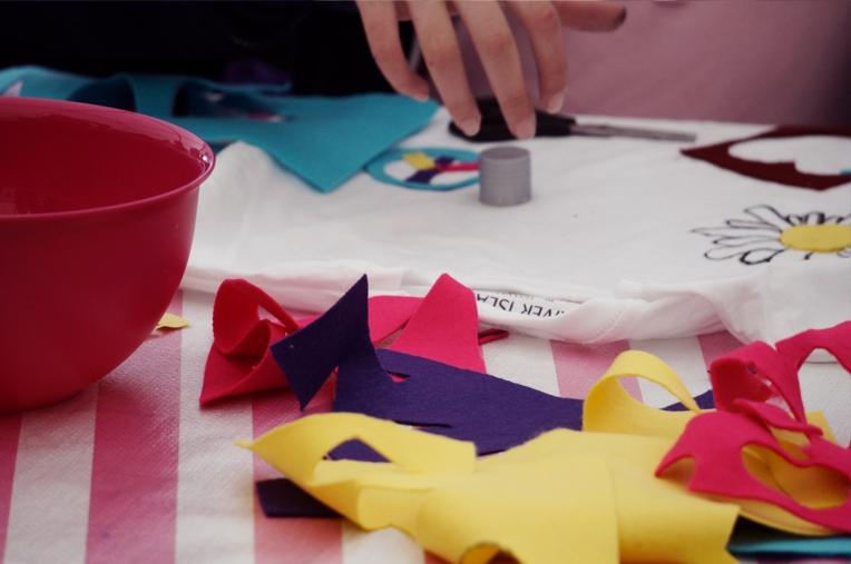 lollibop festival 2013 River Island kids design den 6