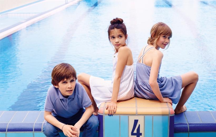 LACOSTE SS15 Kidswear Look Book