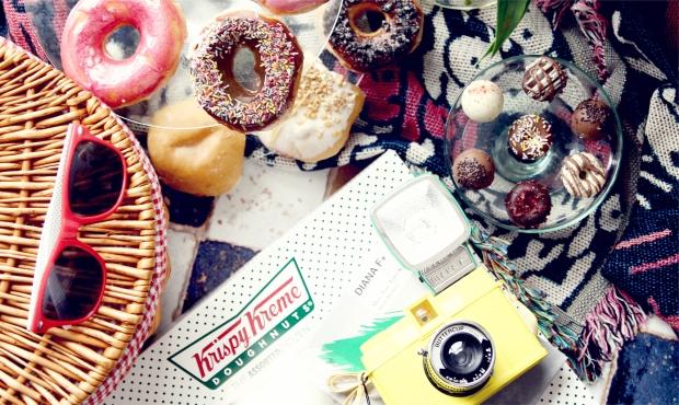 Krispy kreme doughnut hamper