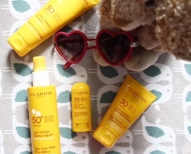 Clarins sun care range for the family