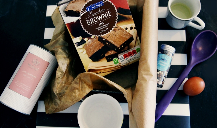 Lidl chocolate brownie mix review