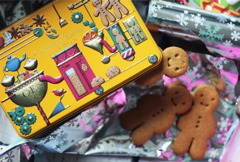 Crabtree gingerbread men tin