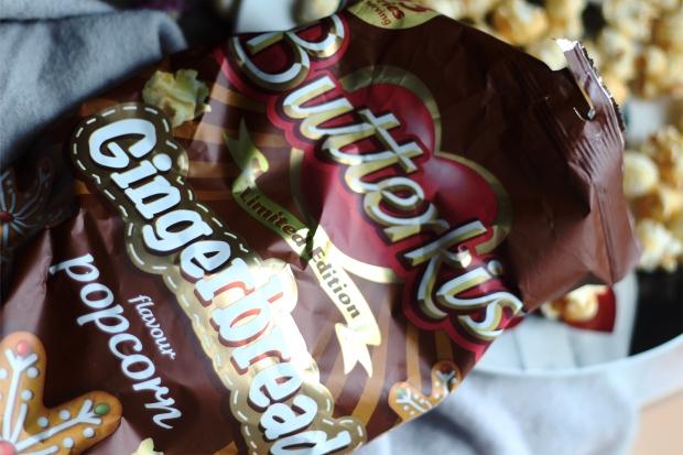 Butterkist gingerbread men popcorn
