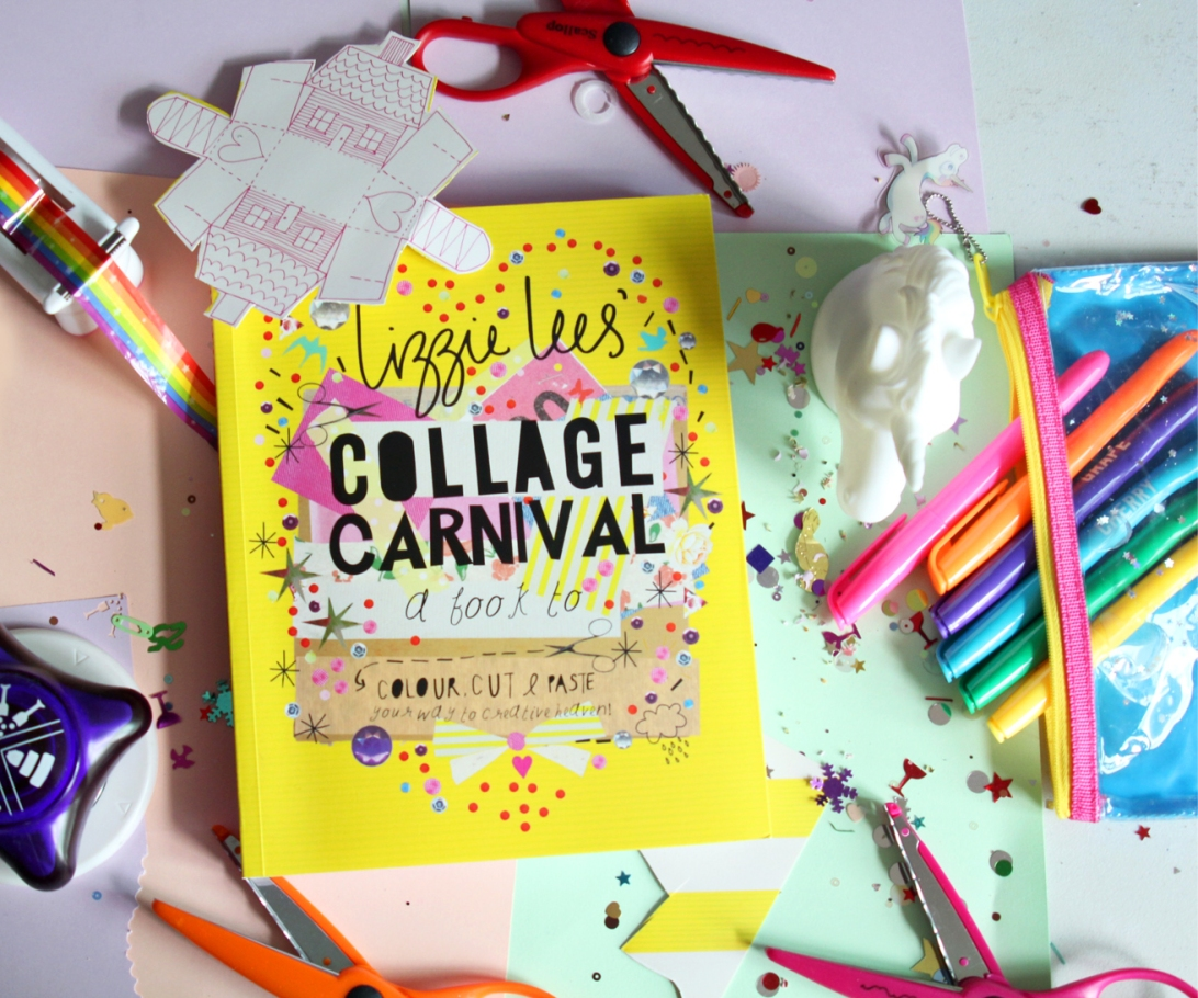lizzie lees collage carnival book