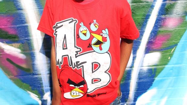 boys angry birds t-shirt