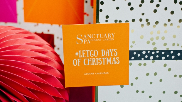 sanctuary spa letgo days of christmas advent calendar