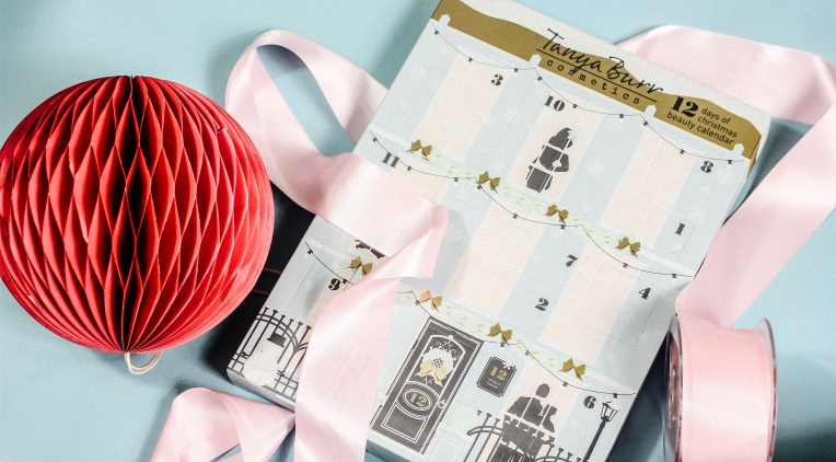 Tanya Burr 12 days of Christmas beauty advent calendar