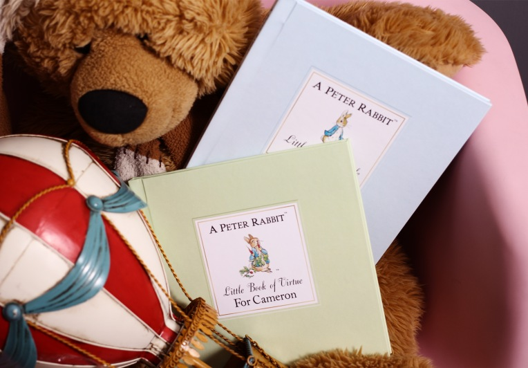 personalised peter rabbit guide to