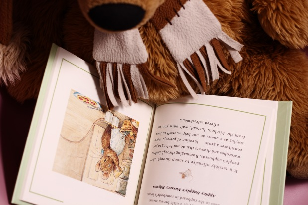 perosnalised peter rabbit little book of virtue